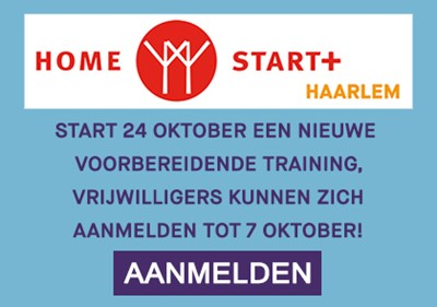 Humanitas: Home-Start+ training vrijwilligers